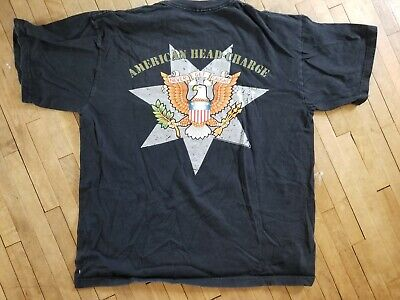 2001 AMERICAN HEAD CHARGE Shirt XL Never Get Caught tour concert