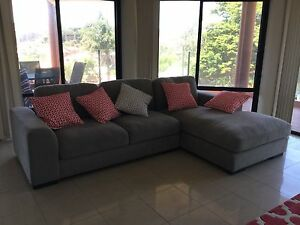 3 seater right hand facing chaise/sofa Terrigal Gosford Area Preview