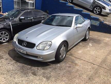 Mercedes Benz SLK230 2002 AUTOMATIC CONVERTIBLE Northmead Parramatta Area Preview