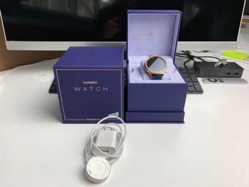 Huawei Watch Jewel Smartwatch 44mm Rose Gold Stainless Steel Gold 55021121