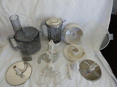 Job Lot of Attachments for Kenwood FP505. Bowl, Blender, Whisk, Juicer, Dough