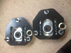 Mk1 Mk2 Escort camber adjustable alloy top mounts, spherical bearing, FS-145x2
