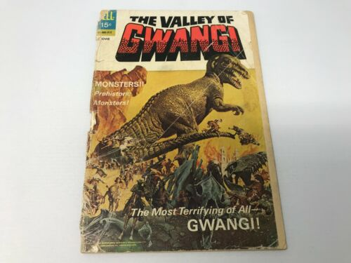 The Valley of Gwangi - Comic Book- 1969 - (Dell)