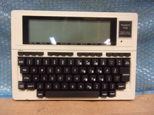 Vintage Tandy 102 Portable Computer