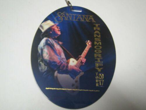 CARLOS SANTANA BAND TRANSMOGRIFY TOUR 2017 VIP SOUVENIR BACKSTAGE CONCERT PASS