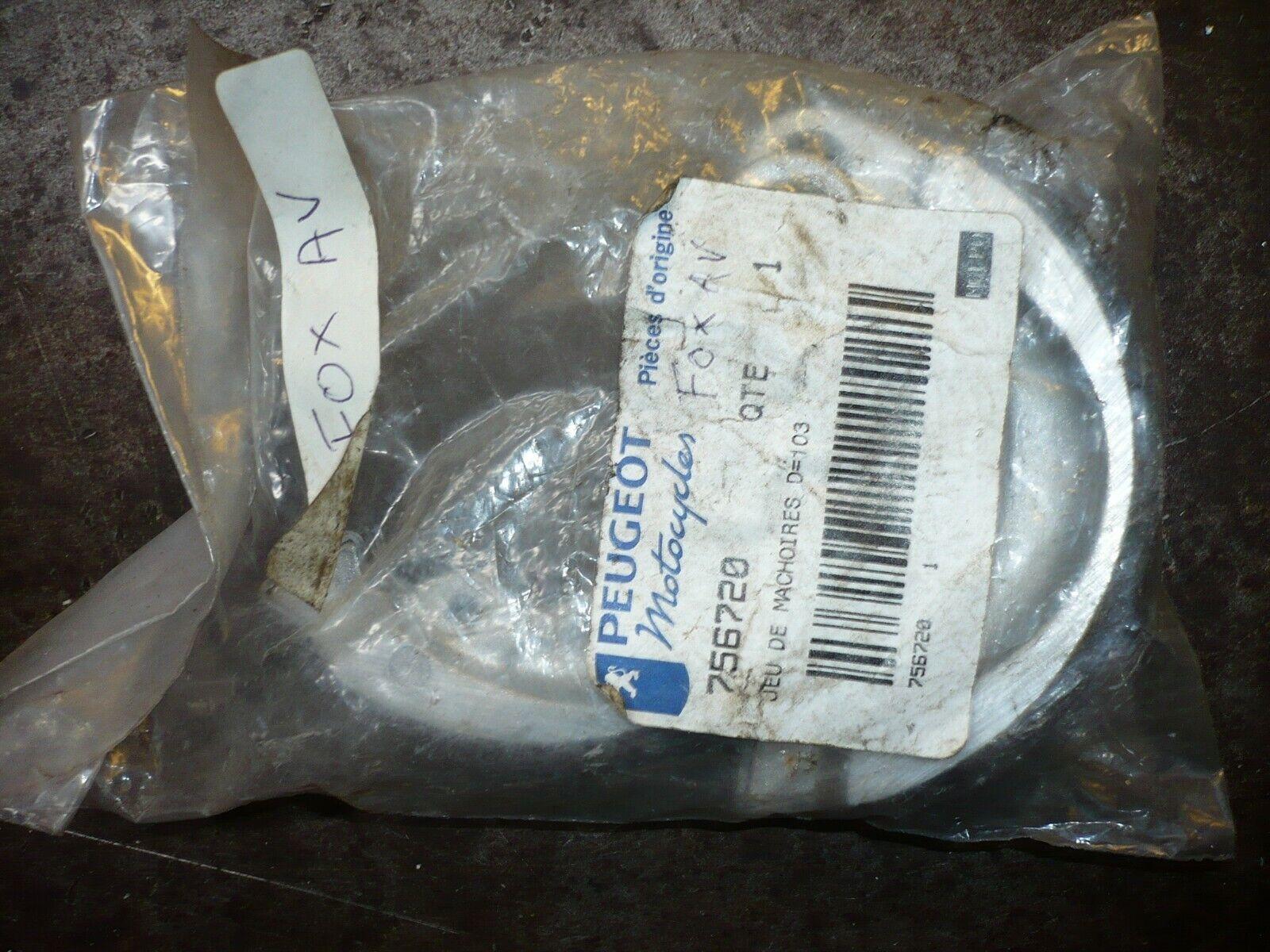 machoire tambour de frein avant peugeot 103  fox spx 50 origine 756720