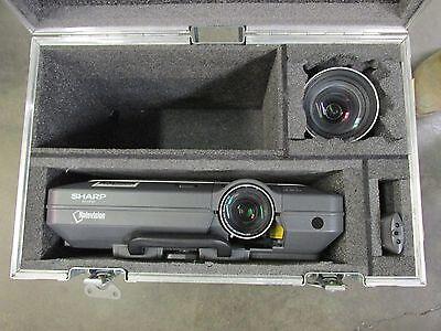 Sharp XG-C68X video projector with standard & short throw lens - 3600 lumens