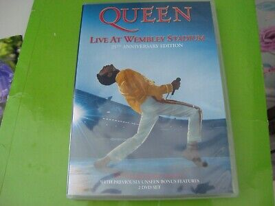 Queen - Live at Wembley 86 (DVD 2-Disc Set) 25th Anniversary Edition