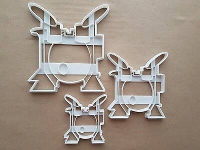 Drum Kit Band Instrument Shape Cookie Cutter Dough Biscuit Pastry Fondant Sharp ()