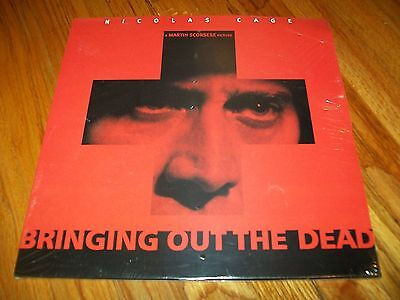 BRINGING OUT THE DEAD 2-Laserdisc LD BRAND NEW SEALED WIDESCREEN FORMAT RARE!