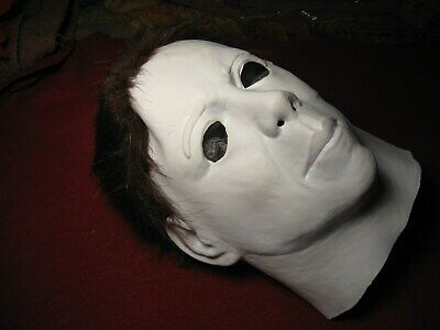 *1978* *MICHAEL MYERS ~ HALLOWEEN ~TRICK OR TREAT LATEX MASK ~ NEW* (Halloween 1978 Michael Myers)