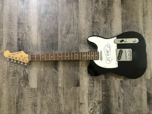 Janes Addiction Perry Farrell Signed PSA/DNA Certified Electric Guitar. Scarce.