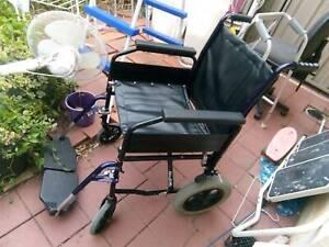Wheelchair, Mobility Rollator Walker, Zimmer Frame – Coronavirus Free