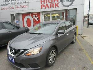 2017 NISSAN Sentra SV free winter tires!!