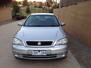 2001 Holden Astra city North Melbourne Melbourne City Preview