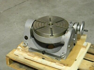 Phase Ii Precision Tilting Rotary Table 12 Diameter 4mt Center Taper 222-412
