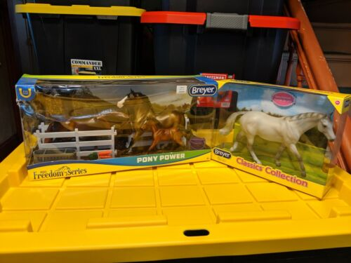 Breyer horse classis Lot, Pony power, and Sell Francis. NIB
