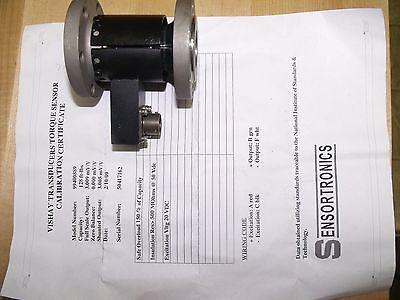 Ingersoll Rand Vishay Torque Sensor Transducer 128ftlb New Condition No Box