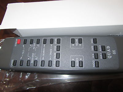 Remote QUAD 66 PreAmp tuner cd system pre amplifier Control hand Controller NEW