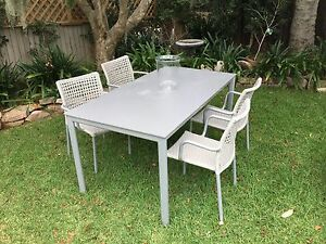 Outdoor table and chairs - Modern Croydon Burwood Area Preview