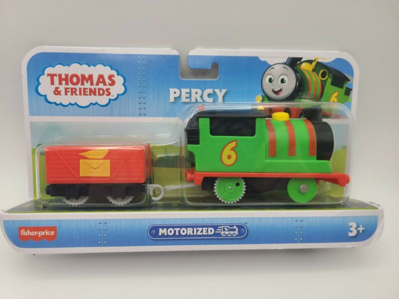 Fisher-Price Thomas & Friends Track Master Motorized Percy Engine New In Box