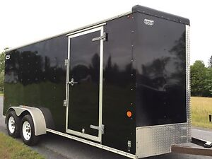2013 cargo / enclosed 7x16 trailer $5,200