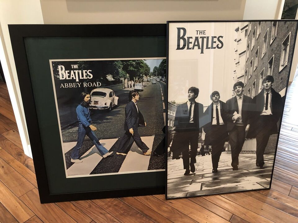 Beatles Framed Pictures x 2 | Arts & Collectibles | Calgary | Kijiji