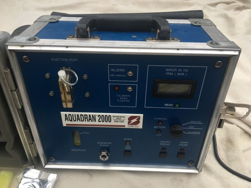 SYPROTEC AQUADRAN 2000 water-in-oil Analyzer, Miscellaneous Oil Sample Materials