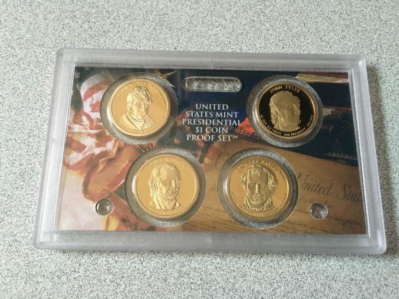 2009 S Proof Presidential Dollar Set no Box or COA