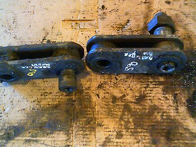 Massey Ferguson Super 90 Diesel Tractor Pair Of Drawbar To 3pt Brace Brackets