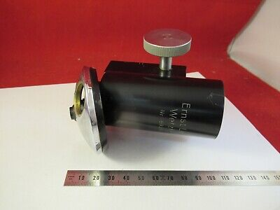 Antique Leitz Germany Tubus Nosepiece Microscope Part As Pictured 8-a-24