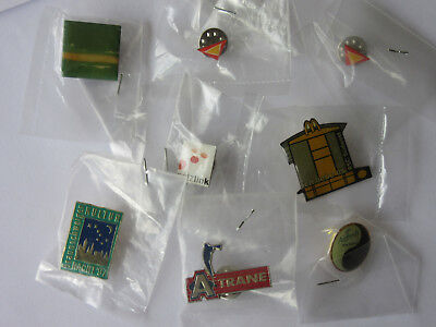 Pin Pins Brosche Patch Anstecker Button Anstecknadel, 8 Stück, siehe Fotos