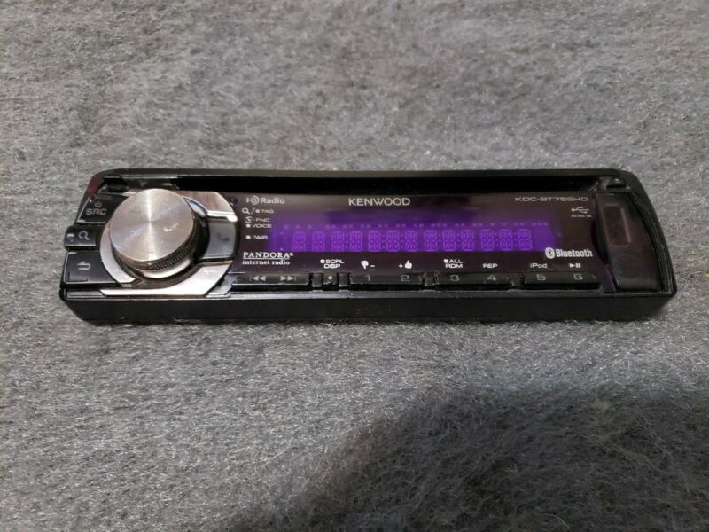 KENWOOD KDC-BT752HD FACE PLATE ONLY TESTED