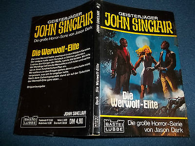 JOHN SINCLAIR***TASCHENBUCH NR.11 + AUTOGRAMM
