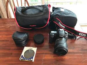 Canon EOS 60 D with two lens and two carry bags Rose Park Burnside Area Preview
