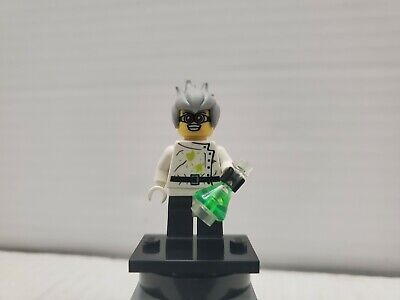 LEGO Minifigures Series 4 Mad Crazy Scientist 100% Complete Authentic Minifigure