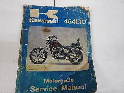 KAWASAKI 454LTD SERVICE MANUAL USED 99924-1056-01