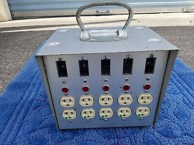 Vintage Lex Products Model 6100 Power Distribution Box
