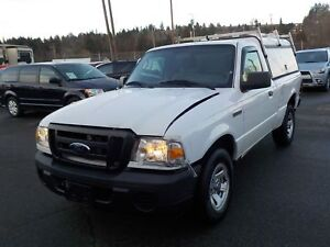 2011 Ford Ranger XL Regular Cab 2WD with Canopy