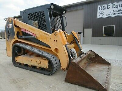 2012 Mustang Rt1750 Tracked Skid Steer Nice Shape Over All Low Hours Gehl