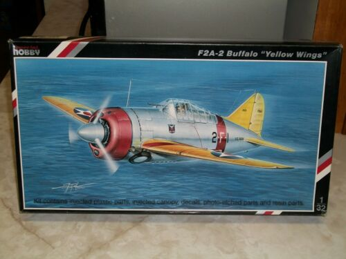 """Special Hobby 1/32 Scale Brewster F2A-2 Buffalo """"Yellow Wings"""""""