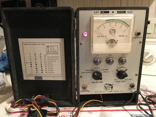 Vintage B & K CRT Cathode Rejuvenator Tester Model 400
