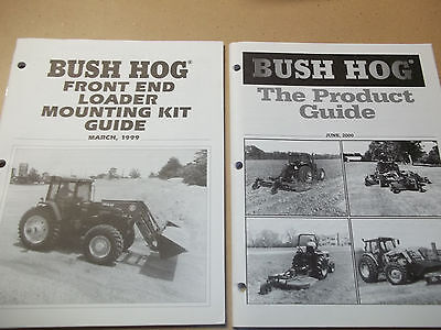 Lot Of 12 Farm Implement Manuals. Variety Lot