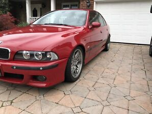 2003 bmw m5 imola red on imola red
