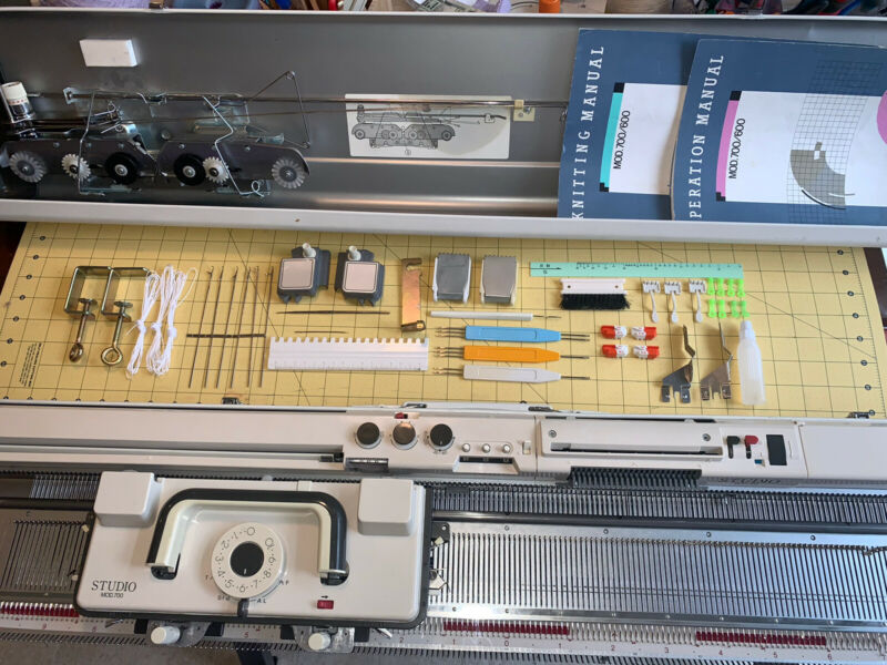 Singer Memo-Matic Mod 700 SK700 Knitting Machine Serviced
