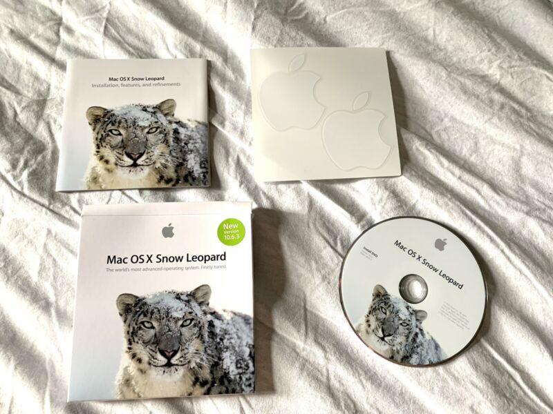 mac osx snow leopard 10.6.3