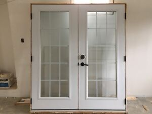 "French patio doors (70"" x 79.5"")"