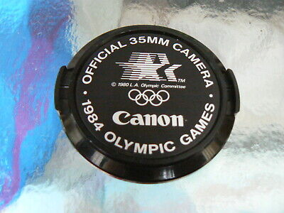 CANON 52MM LENS CAP 1984 OLYMPIC GAMES -