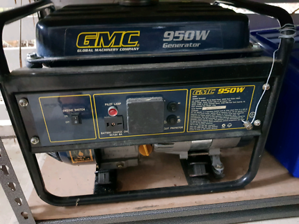 GMC 950w Generator