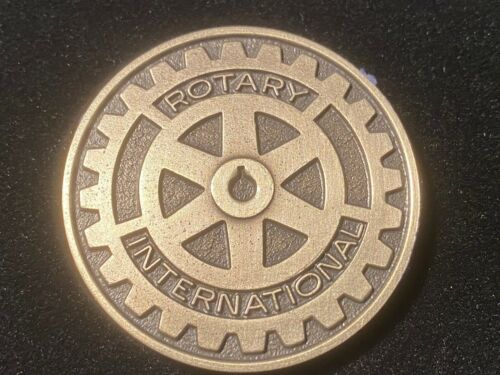 T2: Houlton, Maine Rotary International Sterling Silver Medal. Ricker College